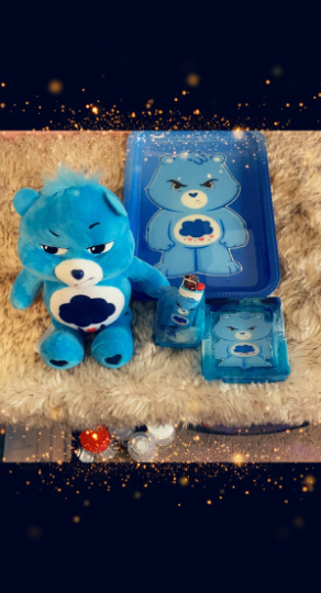 Grumpy Care Bear Rolling Tray Sets