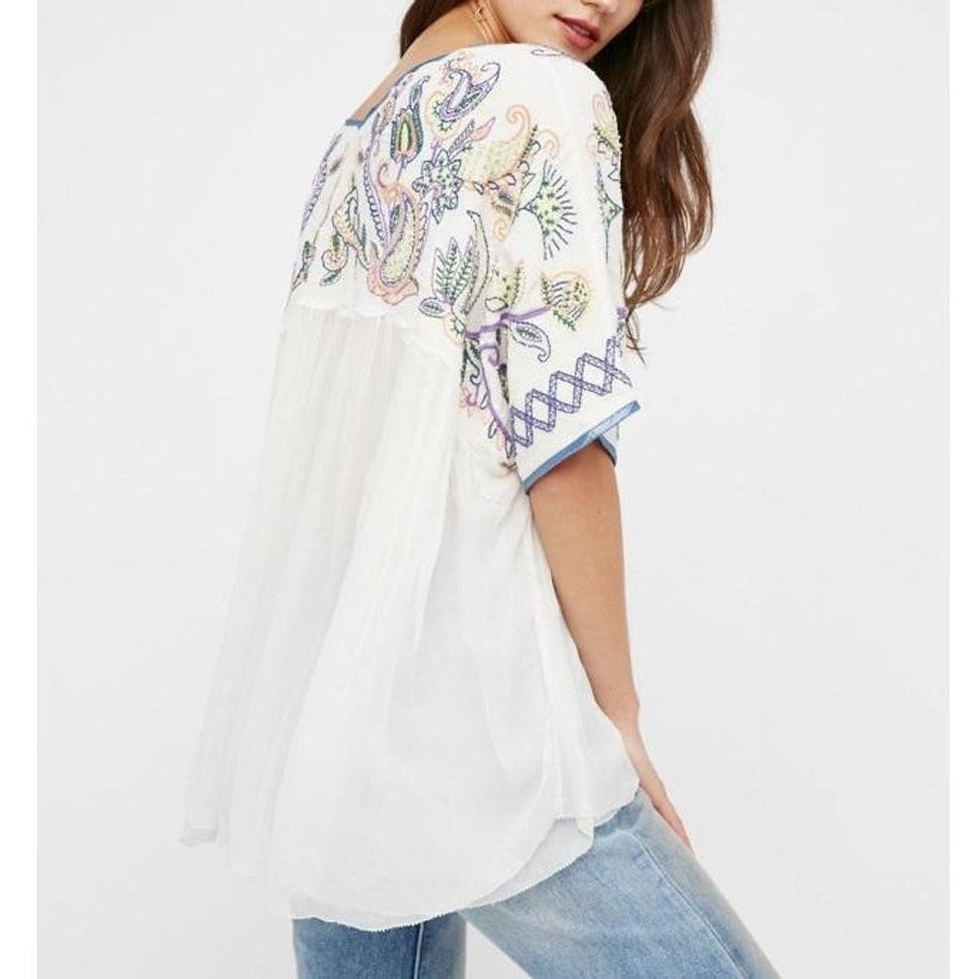 Hippie mexican blouse boho chic