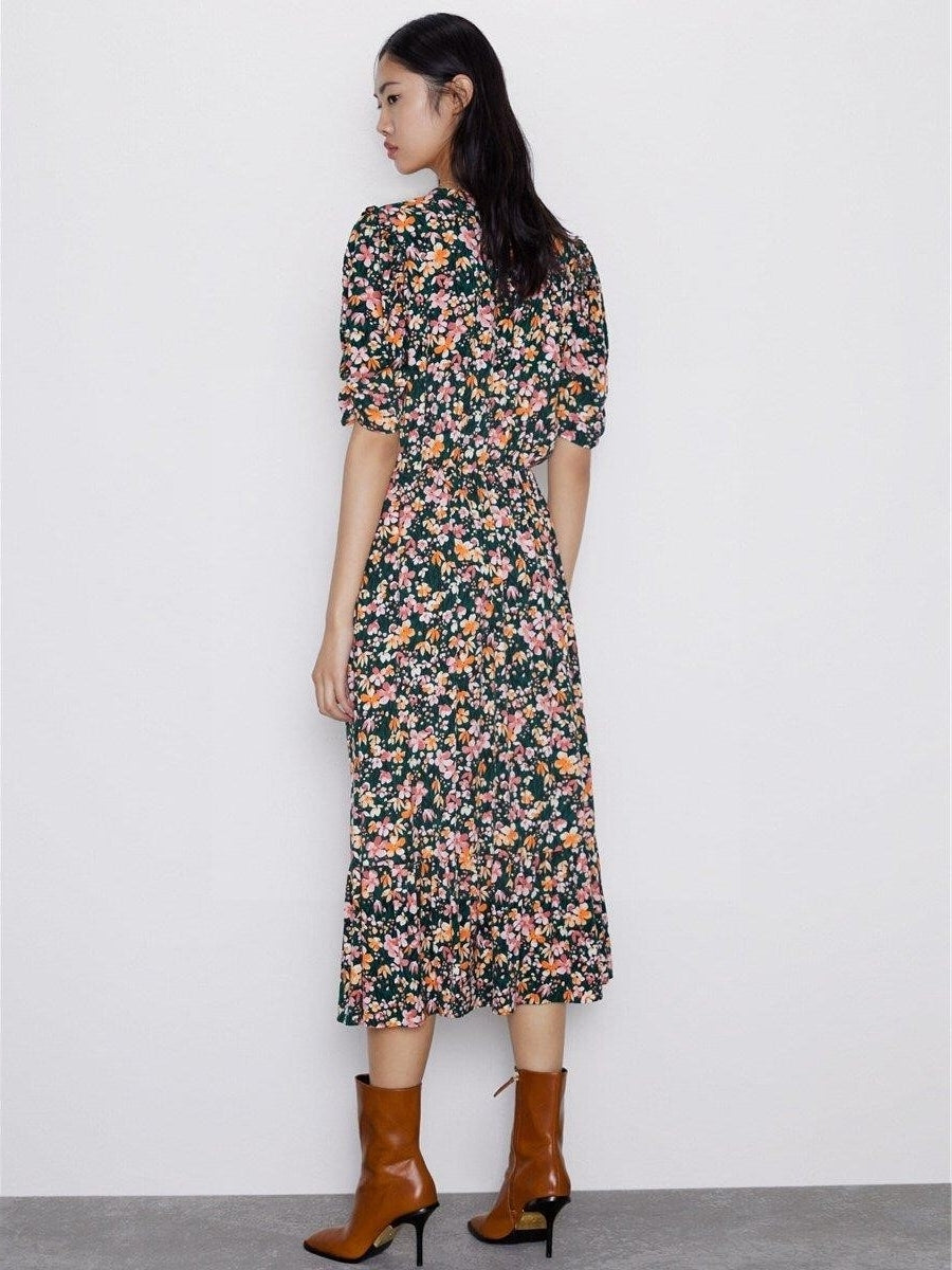 Robe longue hippie hiver mode