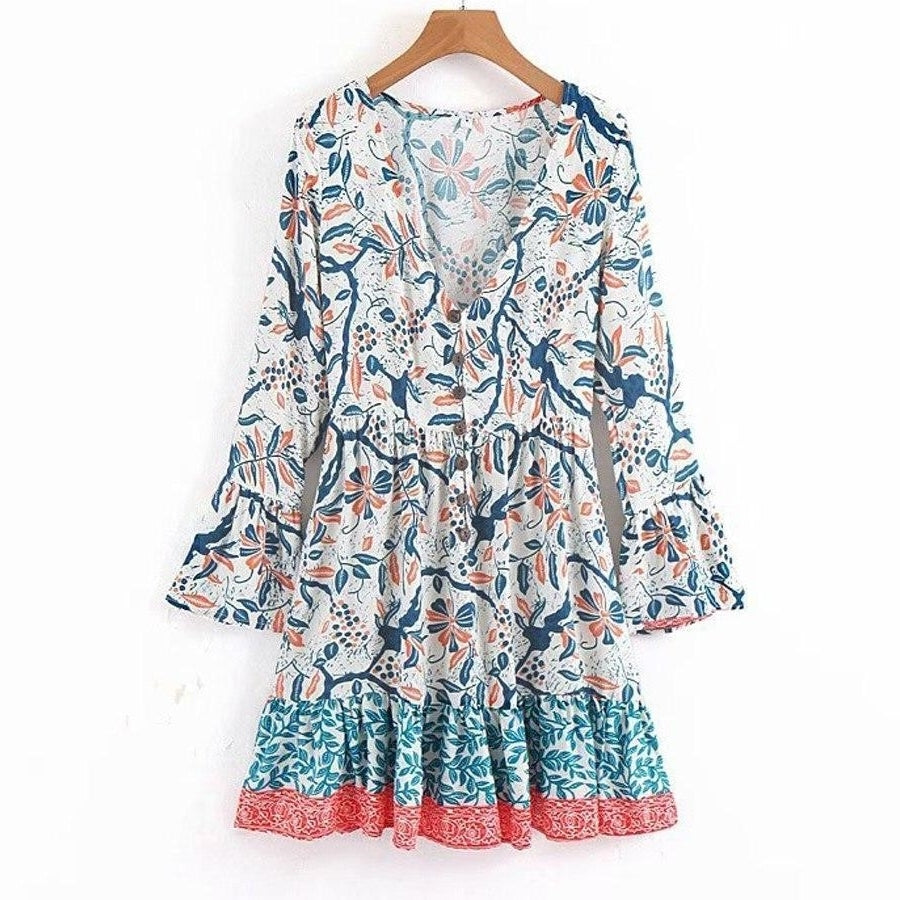 Robe ample hippie Charmante