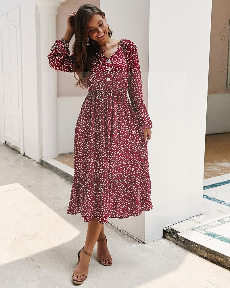 Robe boho hippie chic de qualite