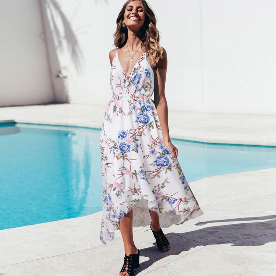 Robe cocktail hippie chic de qualite
