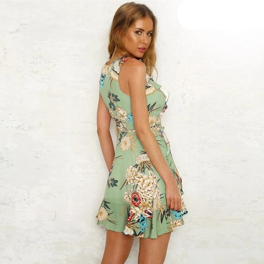 Robe hippie chic floryday de bohemienne