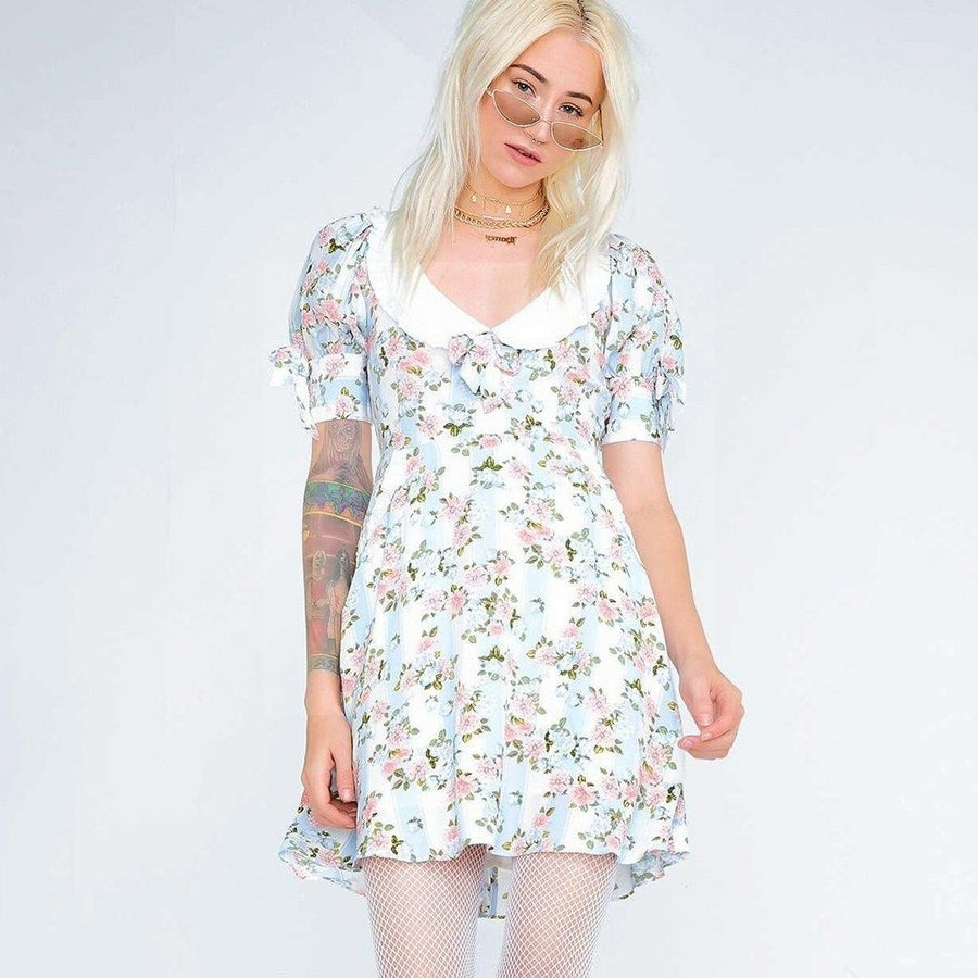 Robe rose hippie chic 2020