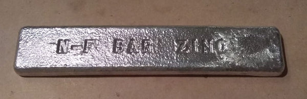 Zinc Infill Metal Bar >99.99%