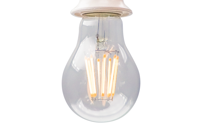 YujiLights™ High CRI 95+ A19 LED Dimmable Filament Bulb