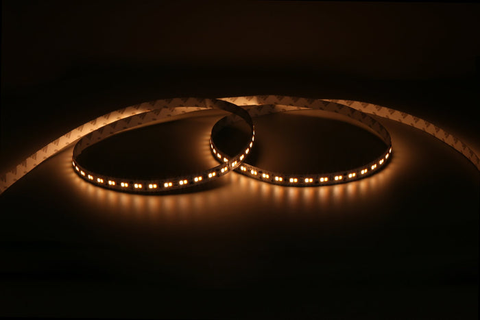 dim-to-warm LED strip