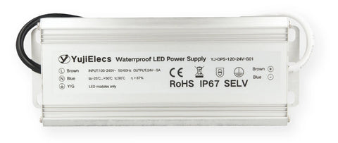YUJILEDS® flicker-free LED power supply provides 2% voltage accuracy
