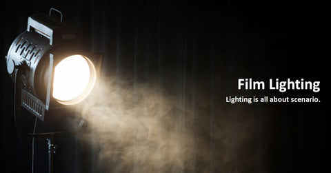 photography studio ligting & film lighting