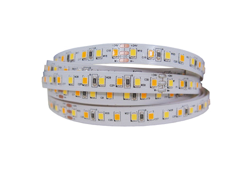 YUJILEDS® High CRI 95+ LED 2835 Dynamic Tunable White LED Flexible Strip -  120 LED/m - Pack: 5m/reel