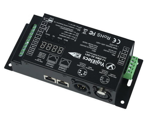 YujiElecs™ 5 Channels DMX512 & RDM High PWM Frequency Anti-flicker Decoder - Pack: 1pcs