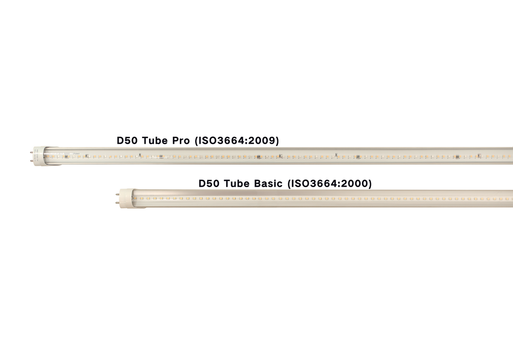 Standard Illuminant D50 5000K T8 LED Tube (ISO3664:2009)
