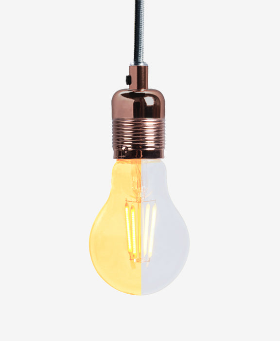 High CRI 95 A19 LED Filament Bulb E27/E26 8W- warm white for Residential - 45 Watt Equivalent