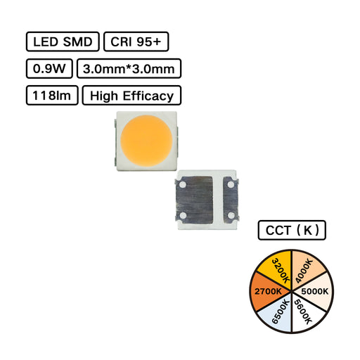 High CRI 95+ 3030 LED SMD