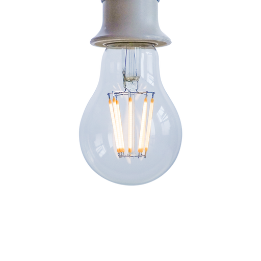 High CRI 95+ A19 8W LED Dimmable Filament Bulb