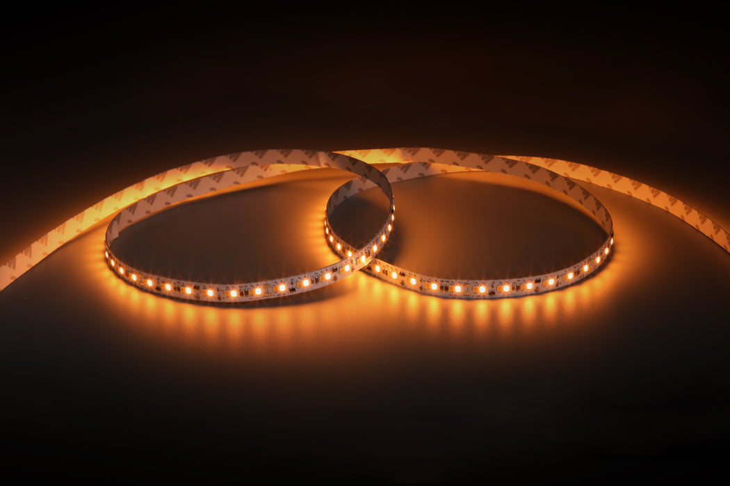YUJILEDS® High CRI 95+ Dim to Warm LED Flexible Strip 1800K to 3000K -  Human Centric Lighting - Pack: 5m/reel