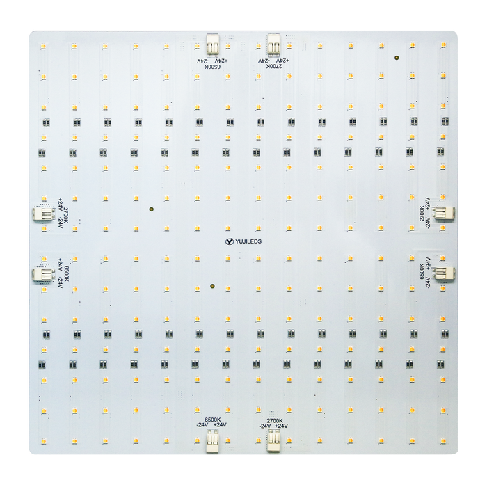 YUJILEDS® High CRI 95+ 2in1 Tunable MCPCB 100W LED Module