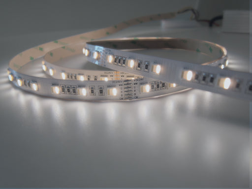 BC Series VarySpec™ 5-in-1 RGBWW Tungsten+Daylight Dimmable LED strip - Pack: 5m/reel