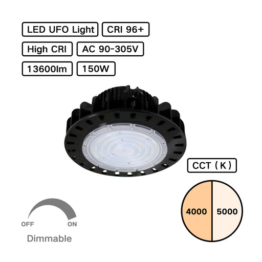 High CRI 95+ High Bay UFO LED Light