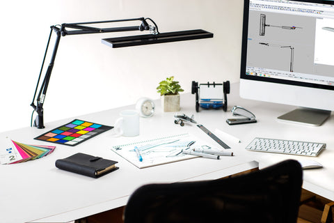 Yamada lighting Z-80PRO Ⅱ High CRI LED Desk Reading Light - Pack: 1pcs
