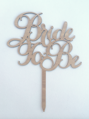 BRIDE TO BE - Cursive