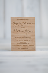 Wedding Invitation Pack - Fancy