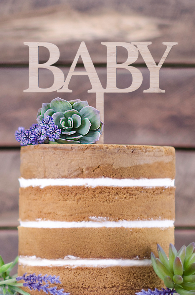 Cake Topper - Baby