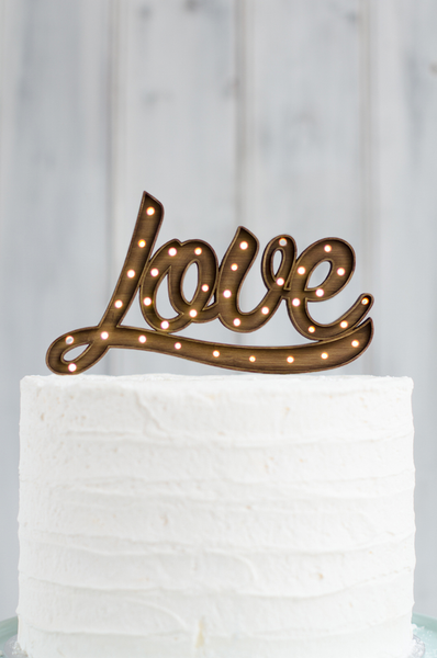 Wooden Cake Toppers Wholesale
