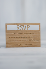 Wedding Invitation Pack - Nature Two Rows