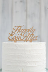 Cake Topper - Happily Ever After Swirl