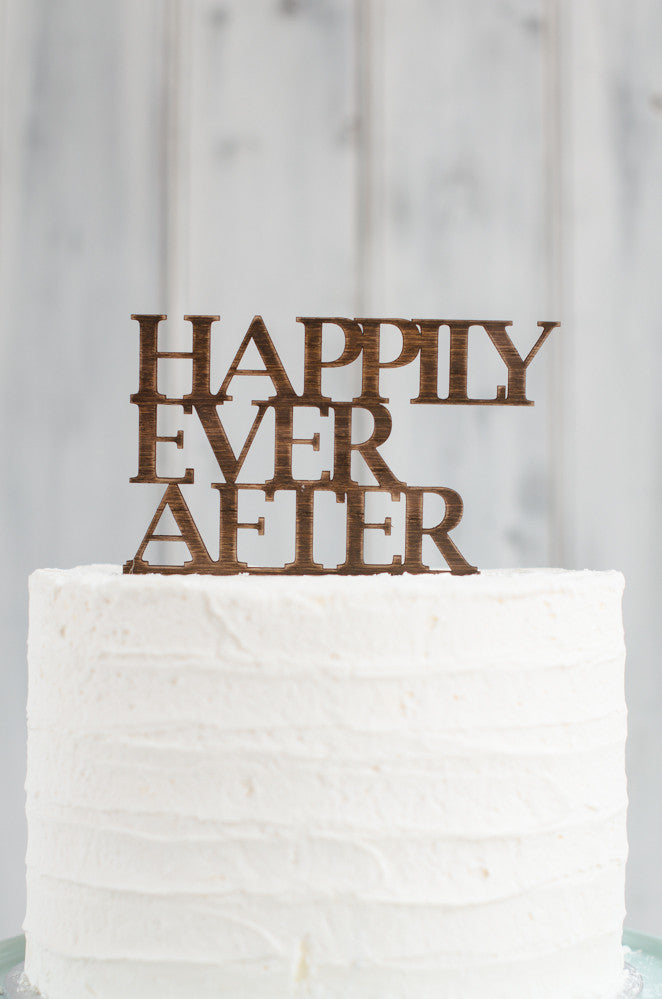 Cake Topper - Happily Ever After