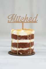 Cupcake Topper - Hitched Swirl