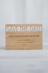Wedding Invitation Pack - Nature Single Row
