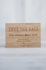 Wedding Invitation Pack - Classic