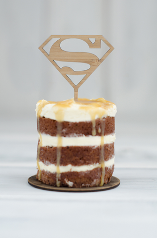 Cupcake Topper - Superman