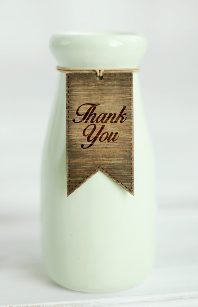 Thank you Gift Tags - Modern Pack