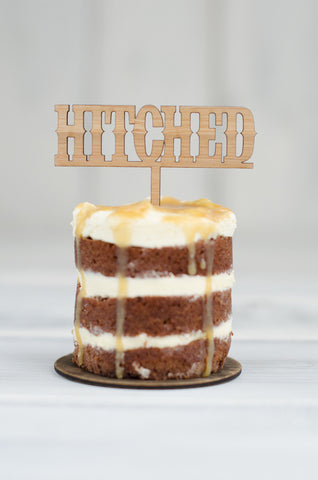 Cupcake Topper - Hitched Western