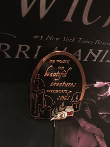 Kingdom of the Wicked Quote Pin
