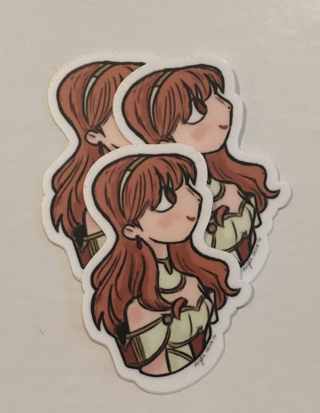 FE Echoes Celica Sticker