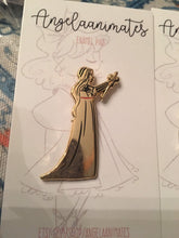 Load image into Gallery viewer, Sword Ladies Enamel Pins, Sword, Historical Lady, Literary