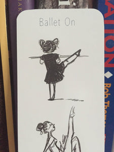 Little Ballerina Bookmark