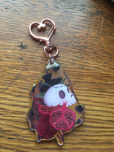 Load image into Gallery viewer, Skull Rose Pomegranate  Double Sided Keychain