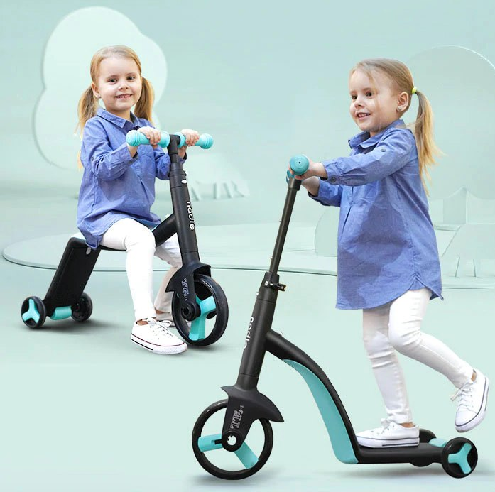 3 in 1 Premium Convertible Baby Scooter