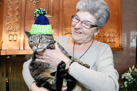 knitting cat patterns adopted cat