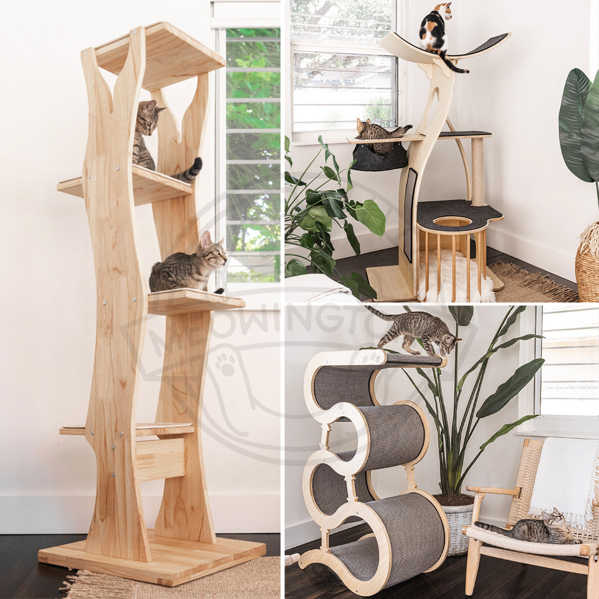 Introducing Ultra-Modern Cat Trees You AND Your Cat Will Love