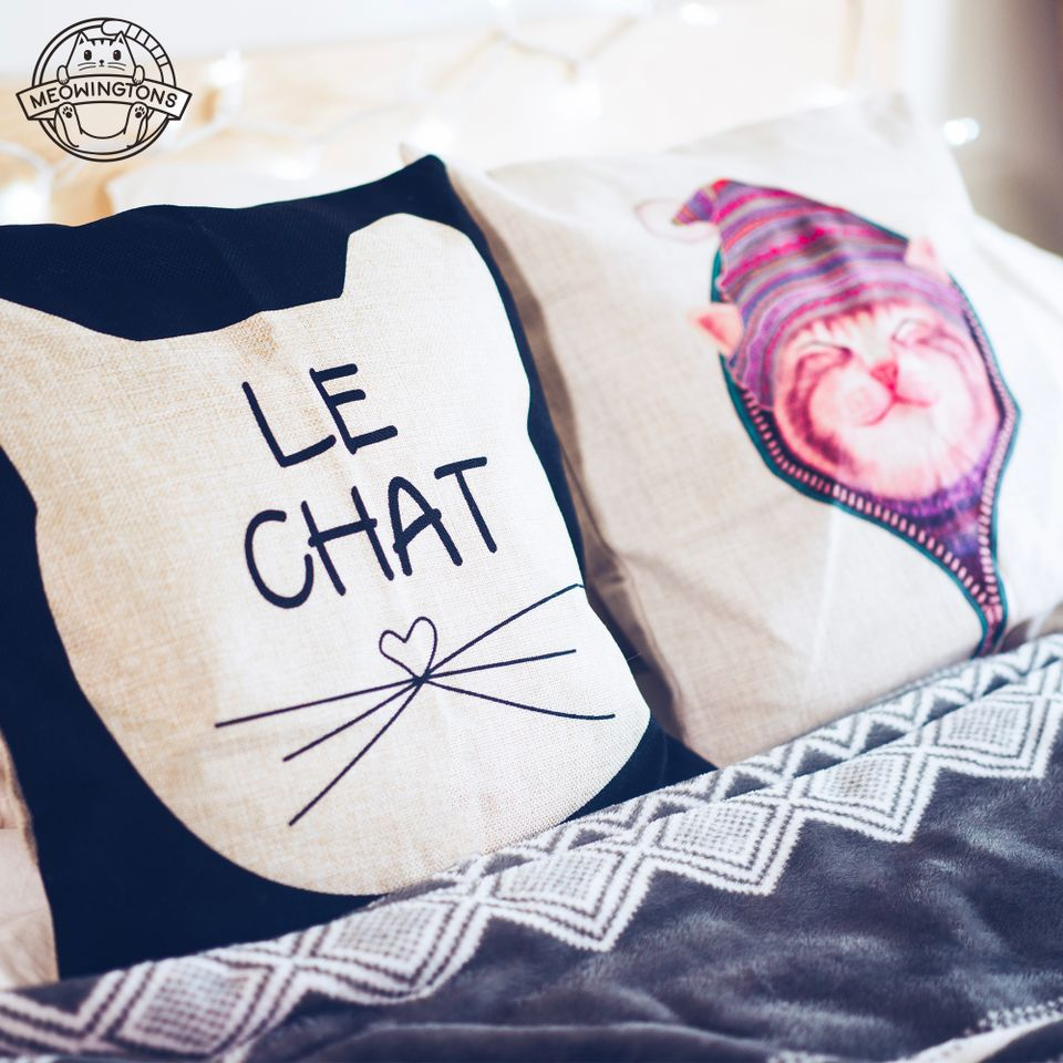 decorative cat toss pillows cat throw pillow cat pillow cat toss
