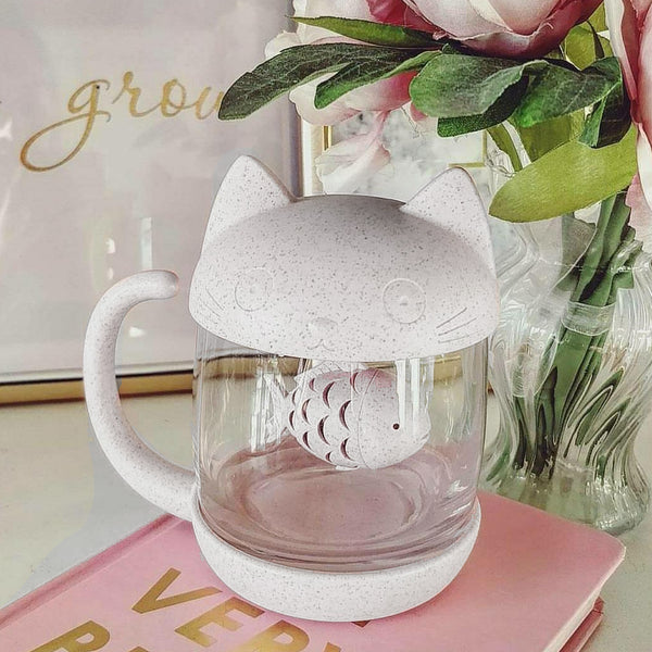kit-tea cat tea infuser cat tea mug cat tea infuser