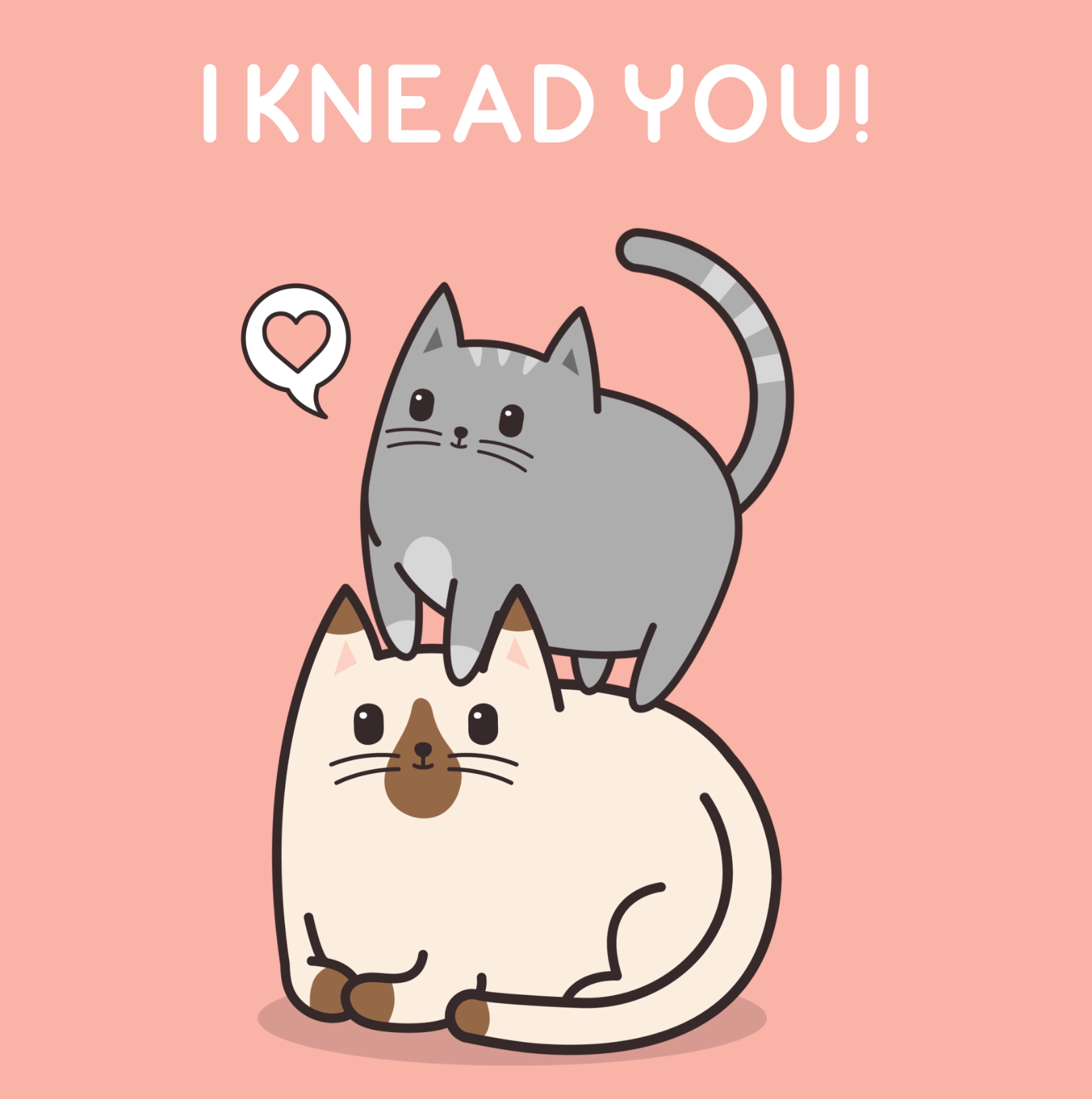 Image of: Sweetheart i Loaf You Meow And Forever Meowingtons 14 Purrfect Puns For Your Punloving Valentine Meowingtons