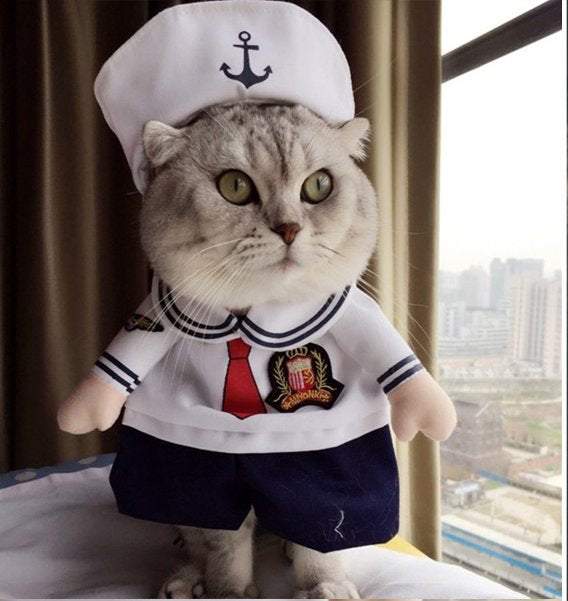 Sailor Cat Halloween Costume