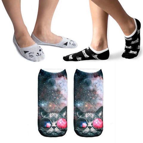Pack of Crazy Cat Lady Socks